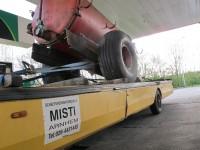 Naar Arnhem met de trailer van Misti.